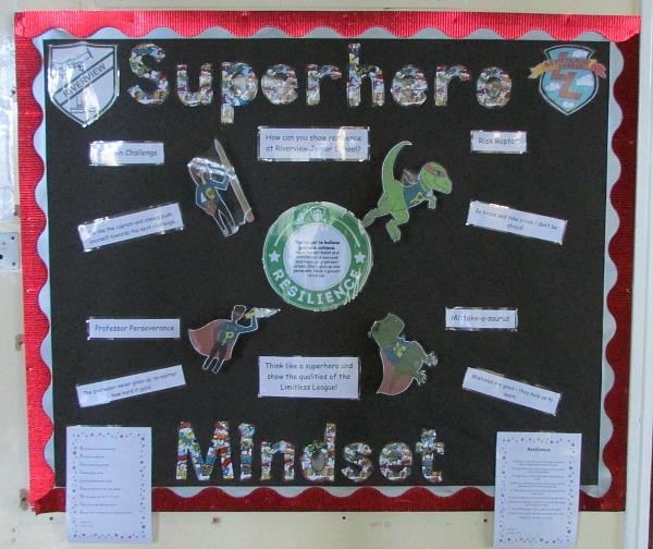 Core Values Superhero minds