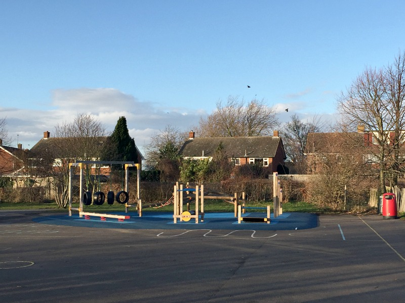 Riverview Junior School playground
