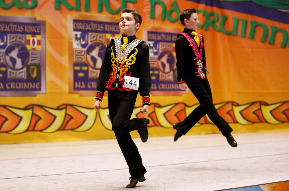 Irish dancing suits